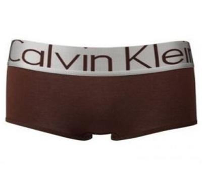 Calvin Klein (шортики) — коричневые с серебряной резинкой steel